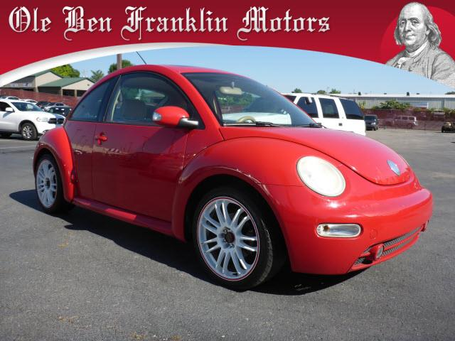 2005 VOLKSWAGEN NEW BEETLE GLS 2DR HATCHBACK red security anti-theft alarm systemabs brakes 4-w