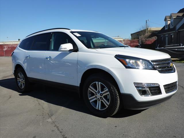2016 CHEVROLET TRAVERSE LT 4DR SUV W2LT white attention iphone ipod  digital music junkies ge