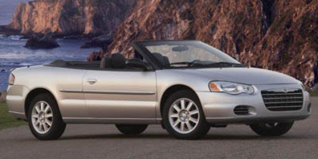 2004 CHRYSLER SEBRING LXI 2DR CONVERTIBLE bright silver metallic delivers 28 highway mpg and 21 c