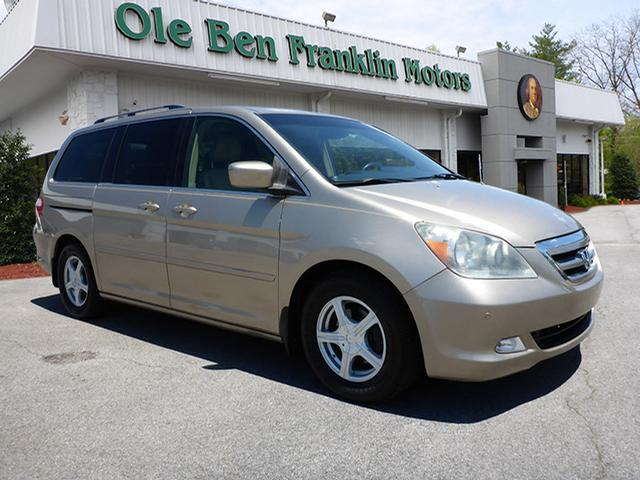 2006 HONDA ODYSSEY TOURING WNAVI WDVD 4DR MINI VA lt brown navigationpower sunroofrear view