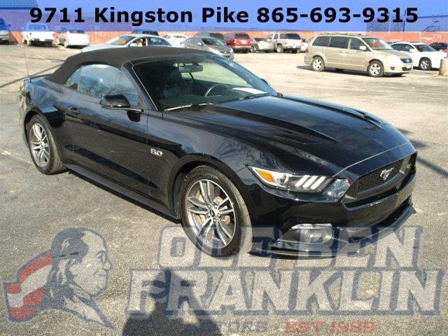2016 FORD MUSTANG GT PREMIUM 2DR CONVERTIBLE shadow black boasts 25 highway mpg and 15 city mpg