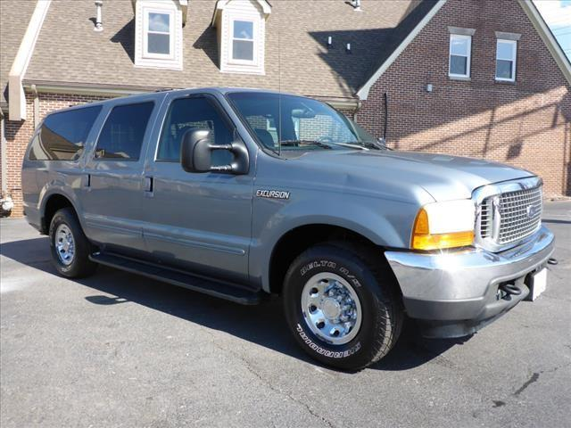 2000 FORD EXCURSION XLT 4DR SUV blue leather upholsteryabs brakes 4-wheelair conditioning - f