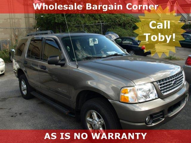 2005 FORD EXPLORER XLT 4DR 4WD SUV unspecified only 110767 miles delivers 20 highway mpg and 14
