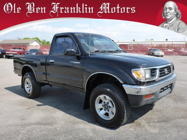 1995 TOYOTA TACOMA BASE 2DR 4WD STANDARD CAB SB black airbags - front - driver sidepower brakes