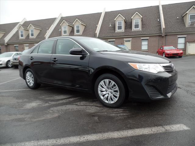 2012 TOYOTA CAMRY LE 4DR SEDAN black crumple zones front and rearhands-free communication system