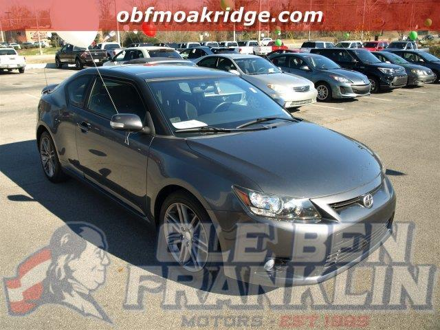 2012 SCION TC gray scores 31 highway mpg and 23 city mpg this scion tc delivers a gas i4 25l15