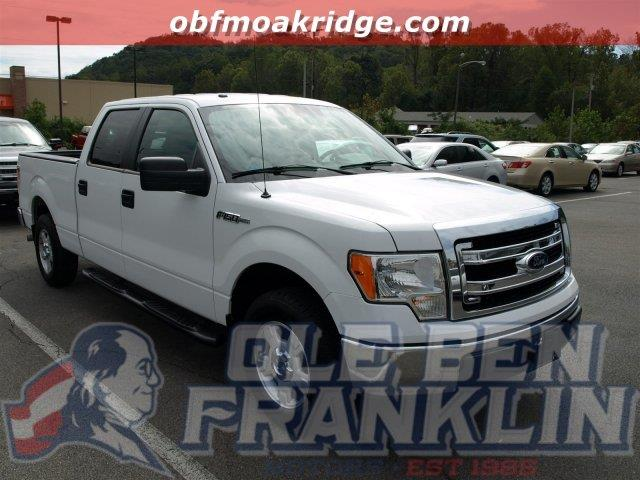 2013 FORD F-150 XLT CREW CAB 65 FOOT BED 50 white scores 21 highway mpg and 15 city mpg thi