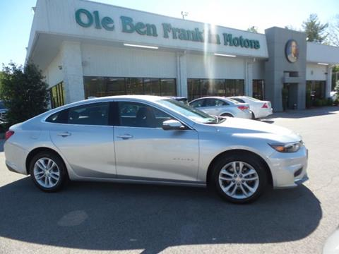Used 2017 chevrolet malibu for sale in tennessee for Ben franklin motors knoxville tn