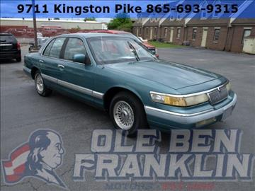 1993 Mercury Grand Marquis for sale in Knoxville, TN