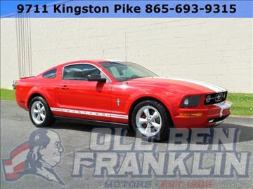 Ford Mustang For Sale In Knoxville Tn