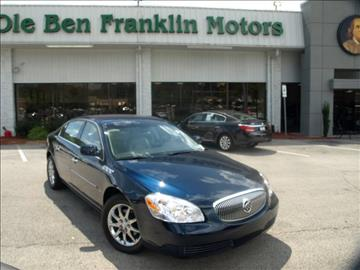 Buick for sale knoxville tn for Ole ben franklin motors knoxville