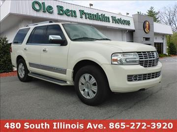 2008 lincoln navigator for sale west virginia for Ole ben franklin motors knoxville
