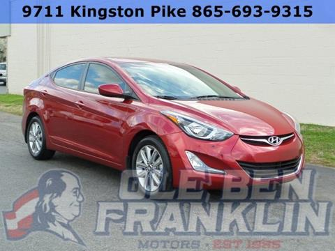Hyundai for sale in knoxville tn for Ole ben franklin motors knoxville