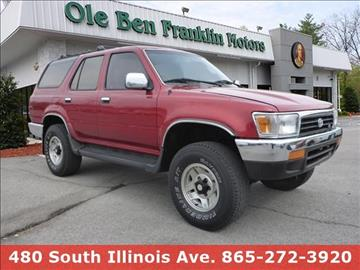 1995 Toyota 4Runner for sale in Knoxville, TN