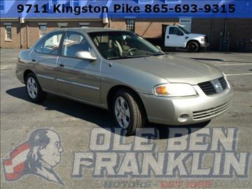 Nissan Sentra For Sale Knoxville Tn