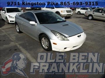 Toyota celica for sale for Ole ben franklin motors knoxville