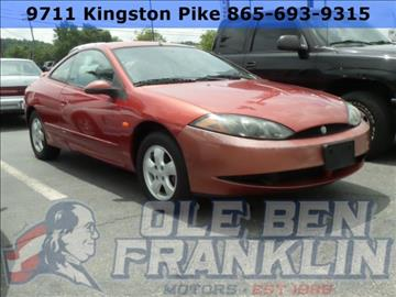 2000 Mercury Cougar for sale in Knoxville, TN