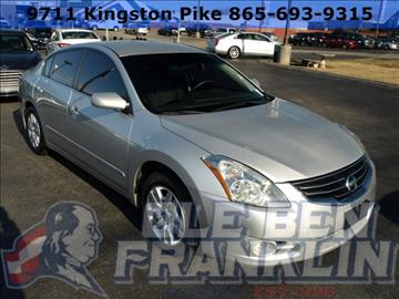 Nissan Altima For Sale Knoxville Tn