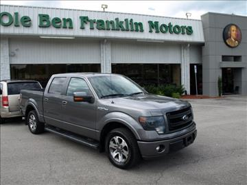 2013 ford f 150 for sale knoxville tn for Ole ben franklin motors knoxville
