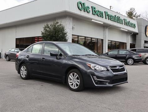 2016 subaru impreza for sale for Ole ben franklin motors knoxville