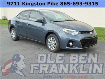 Toyota Corolla For Sale In Knoxville Tn
