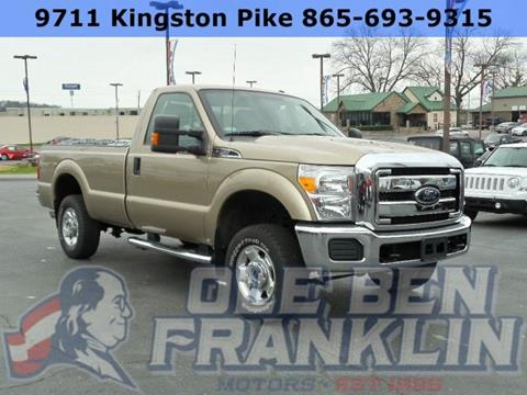 Ford f 250 for sale in knoxville tn for Ben franklin motors knoxville tn