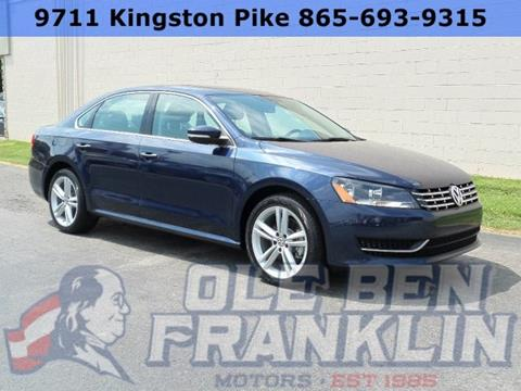 2015 Volkswagen Passat for sale in Knoxville, TN