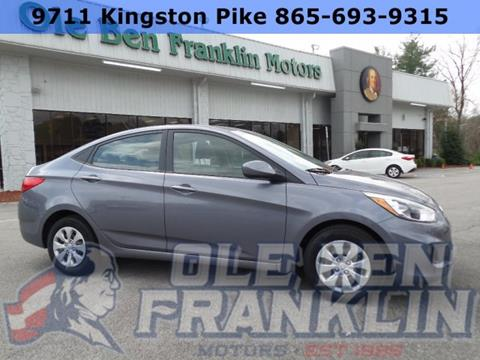 2017 hyundai accent for sale in tennessee for Ole ben franklin motors knoxville