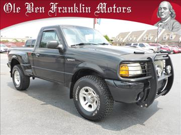 2001 Ford Ranger For Sale Tennessee