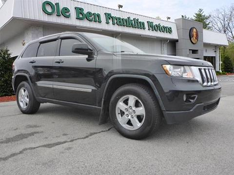 Jeep grand cherokee for sale in knoxville tn for Ole ben franklin motors knoxville