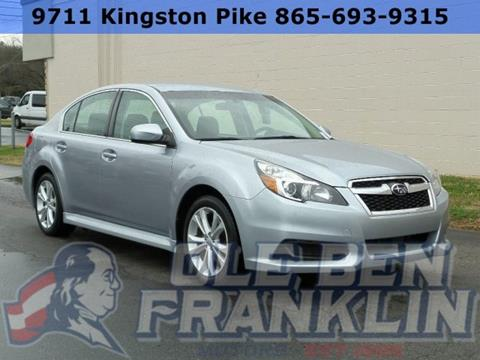 2014 subaru legacy for sale in tennessee for Ole ben franklin motors knoxville