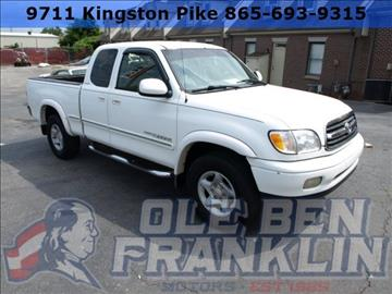 2001 Toyota Tundra for sale in Knoxville, TN