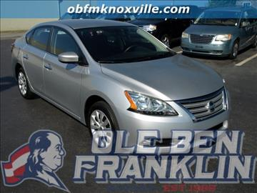 Nissan sentra for sale knoxville tn for Ben franklin motors knoxville tn