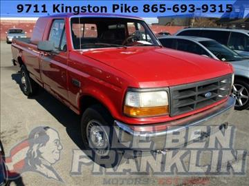 1996 ford f 250 for sale for Ben franklin motors knoxville tn
