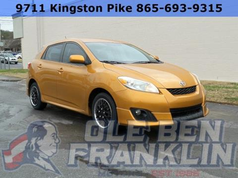 Toyota matrix for sale in tennessee for Ole ben franklin motors knoxville