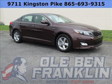2014 Kia Optima for sale in Knoxville, TN