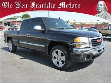 Gmc for sale knoxville tn for Ole ben franklin motors knoxville