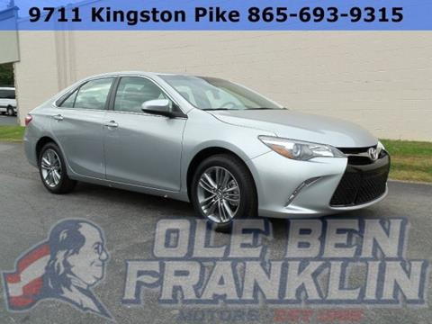 Toyota camry for sale in knoxville tn for Ole ben franklin motors knoxville