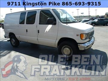 2002 Ford E-Series Cargo for sale in Knoxville, TN