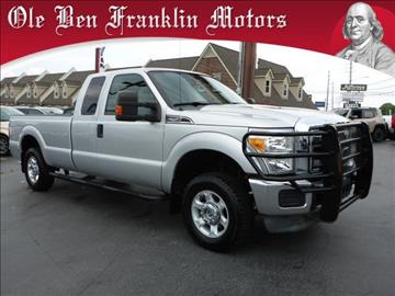 2013 ford f 250 super duty for sale sacramento ca for Ole ben franklin motors knoxville