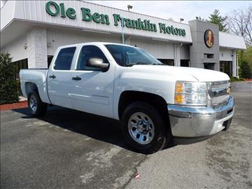 2012 chevrolet silverado 1500 for sale knoxville tn for Ole ben franklin motors knoxville