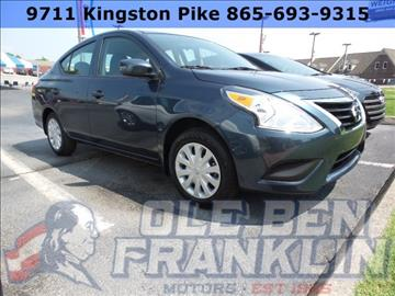 2016 Nissan Versa for sale in Knoxville, TN
