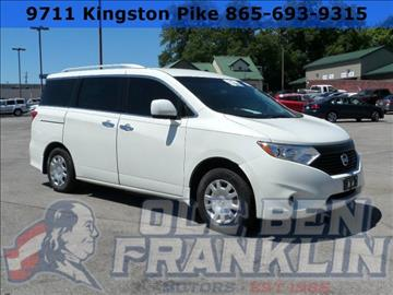 2014 Nissan Quest for sale in Knoxville, TN