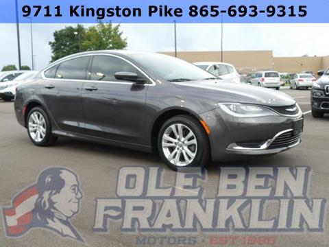 2016 Chrysler 200 for sale in Knoxville, TN
