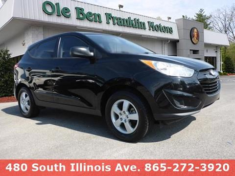 2010 Hyundai Tucson for sale in Knoxville, TN