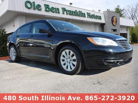 2014 Chrysler 200 for sale in Knoxville, TN