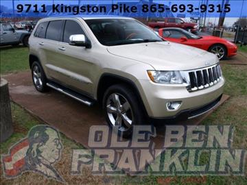 Jeep grand cherokee for sale knoxville tn for Ben franklin motors knoxville tn