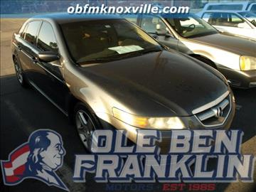 Acura for sale knoxville tn for Ole ben franklin motors knoxville
