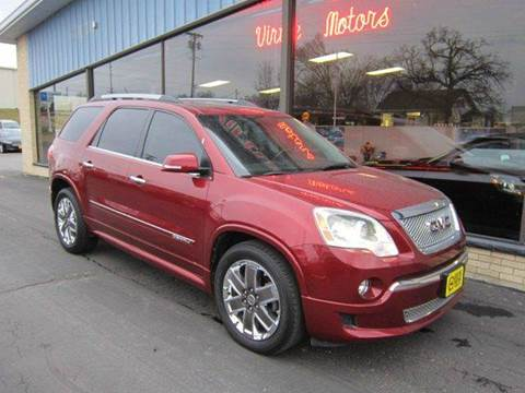 gmc acadia for sale aitkin mn. Black Bedroom Furniture Sets. Home Design Ideas