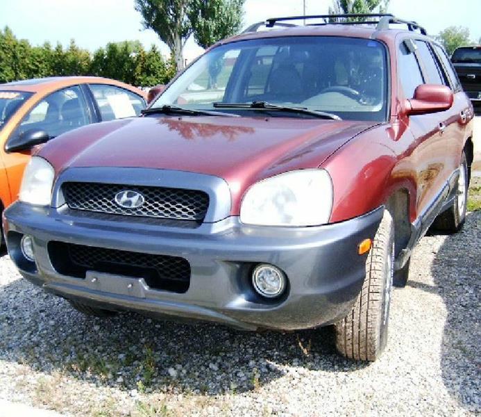 2003 Hyundai Santa Fe GLS 4dr SUV - Green Bay WI